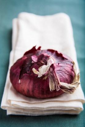 Red Onion Close-Up :: Styling: Orsola Ciriello Kogan | Photo: ©LuciaZeccara