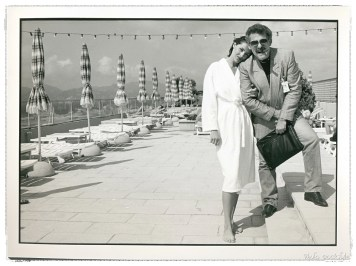 Vika and Anatoly in Cannes