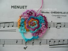 Rose Heart, Be-Stitched