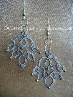 'Keyed up' earrings, Marilee Rockley