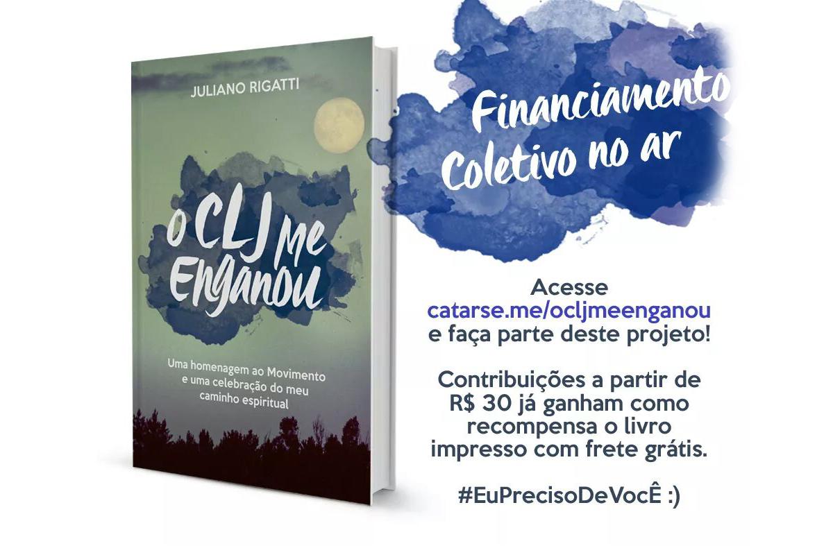 """Pré-lançamento do livro """"O CLJ me enganou"""""""