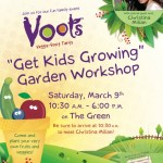 Voots Interactive Gardening Workshop for Kids