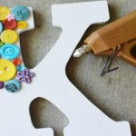 Button Letter Craft Project Tutorial