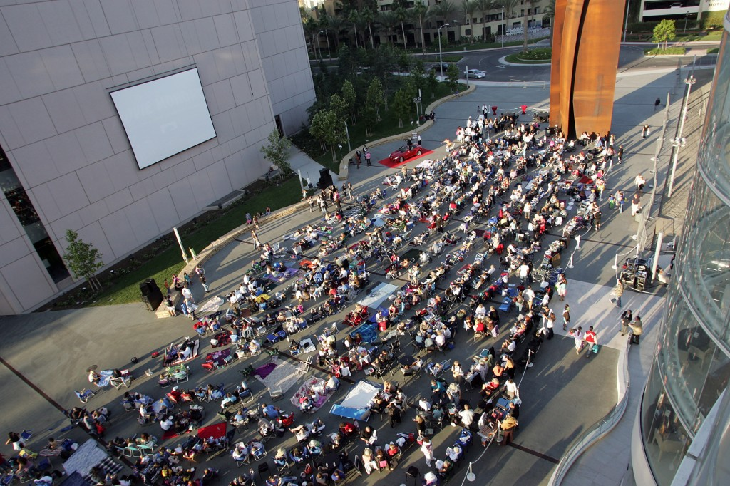 Summer Movie Series at Segerstrom Center for the Arts