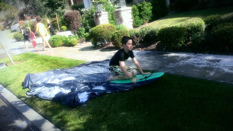 take your slip n slide to the next level