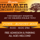 OC Activity Guide: Thursday Evenings bring you OC Parks 2013 Summer Concerts