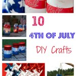 10 DIY 4th of July Crafts