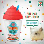 Free Slurpee for 7-Eleven Day #7ElevenDay