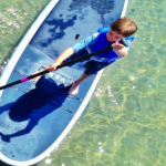 Introducing Young Kids to Stand Up Paddleboarding