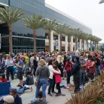Disney D23 Expo Fans on Opening Day