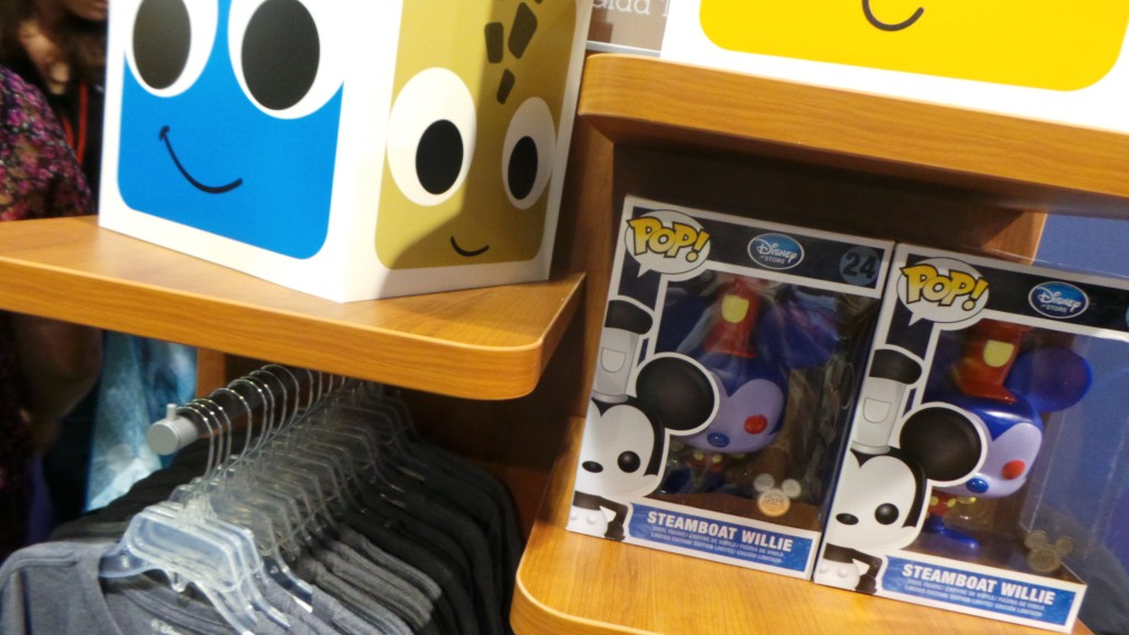 Disney products at the D23 Expo pop