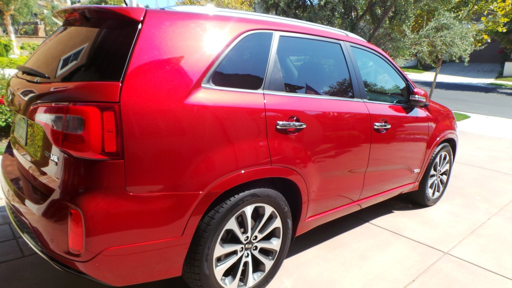 Kia Sorento SX for families