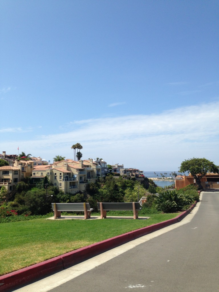 Ocean view park in orange county
