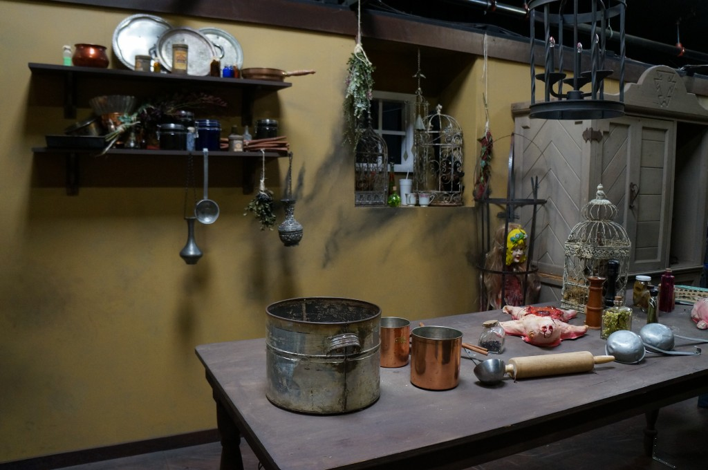 Kitchen in Knott's Scary Farm Maze
