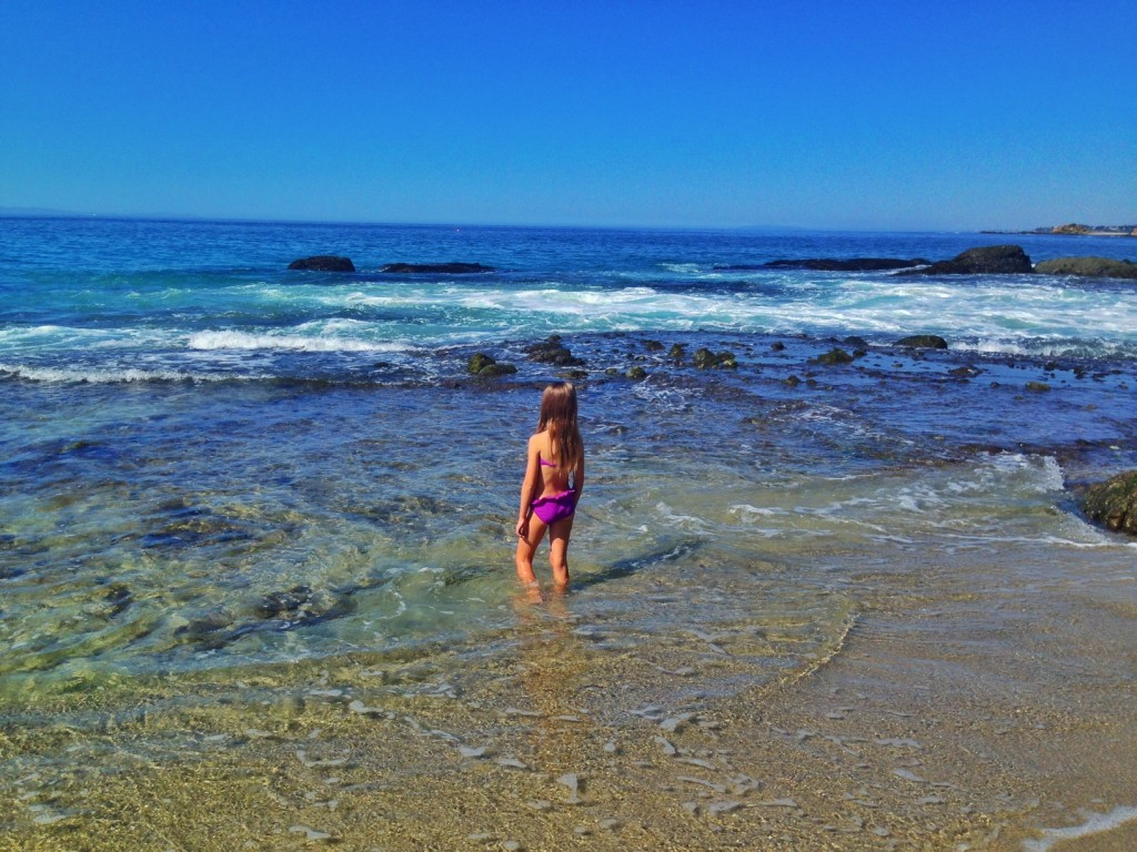 Camel Point Beach in Laguna Beach is Best of Beaches in California