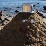 How to Make a Sand Snowman