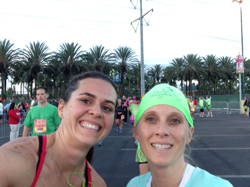 We did it! 13.1 miles in 2 hours!
