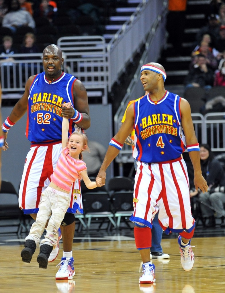 Photo courtesy of the Harlem Globetrotters