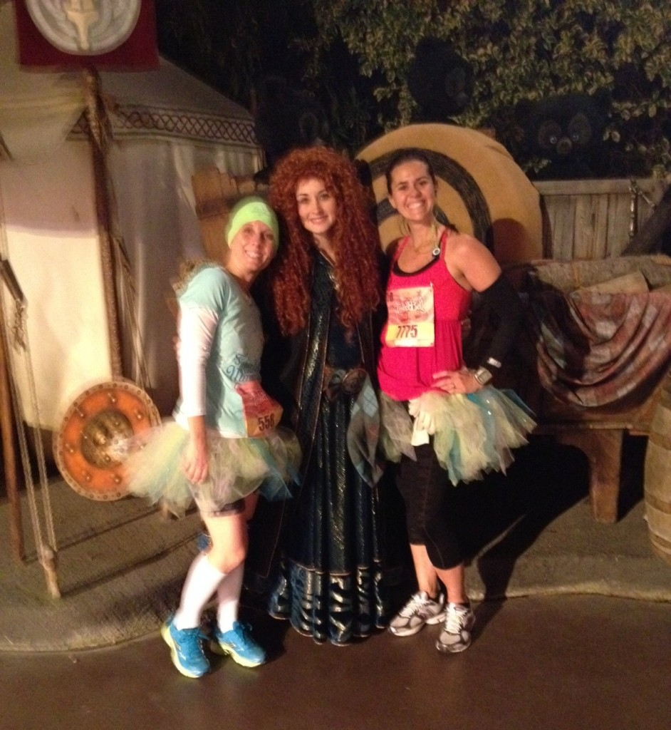 Photo op with Merida from Brave