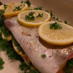 Lemon Garlic Trout Recipe