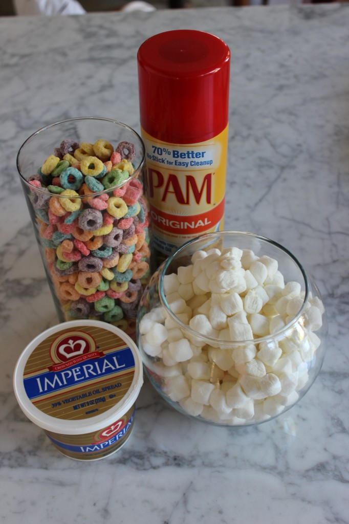 Simple ingredients for a tasty treat