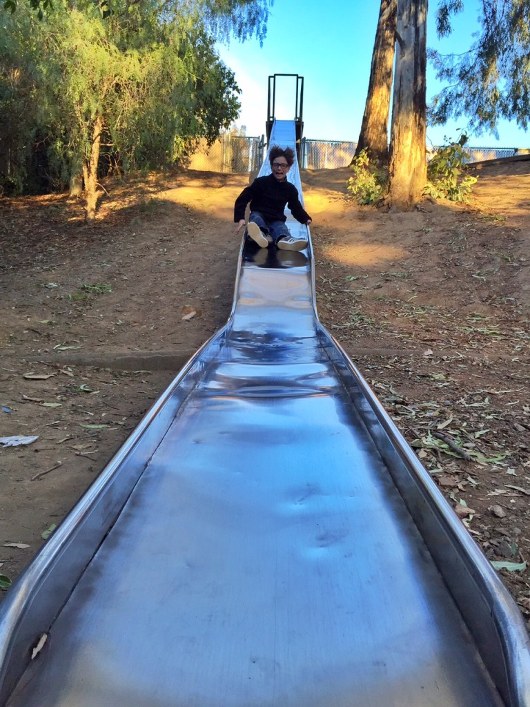 Playing on Slides