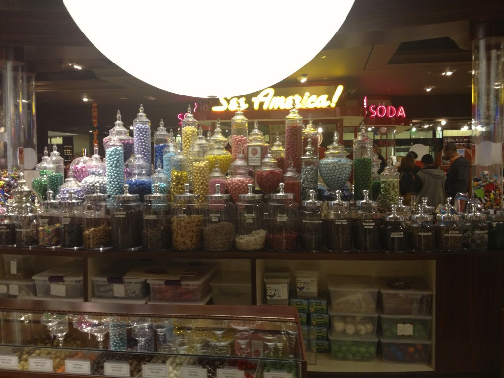 The Sweets Candy Shop in Hollywood