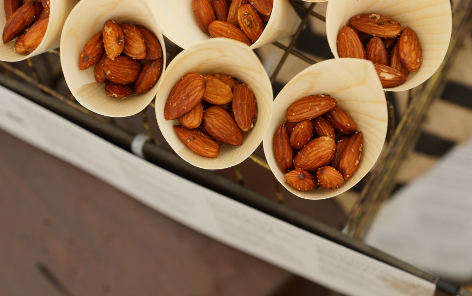 Almonds from WaterTable at the Hyatt HB