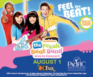 Fresh Beat Band OC Fair