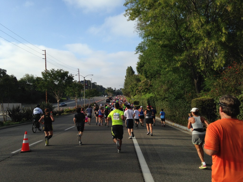 Runners fill the streets of Laguna Hills