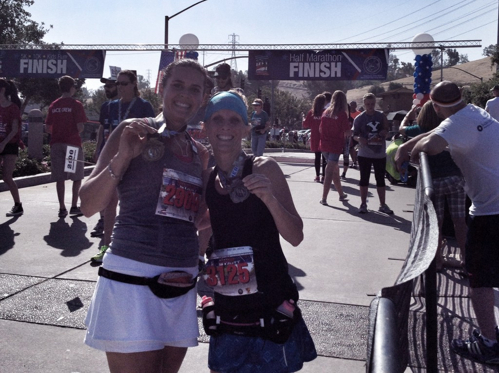 13.1 miles done in 1:58