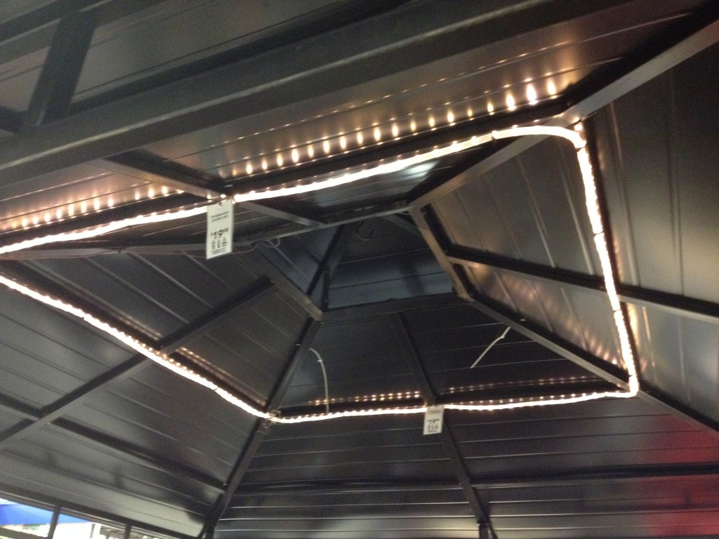 I've got my eye on these lights at Lowe's.