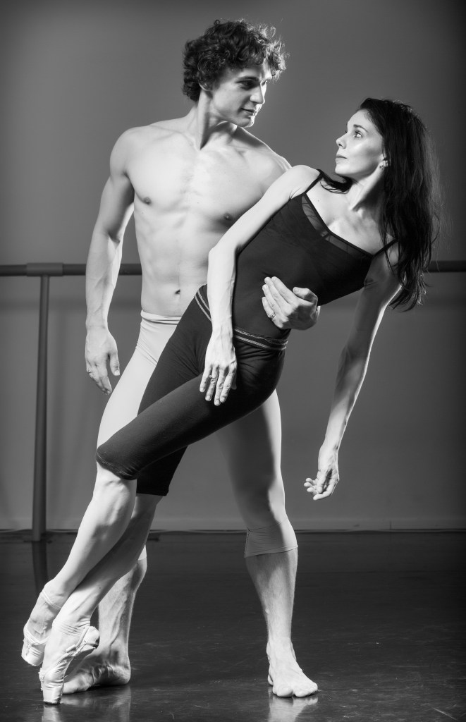 Ivan Vasiliev and Natalia Osipova Photo by Stas Levshin