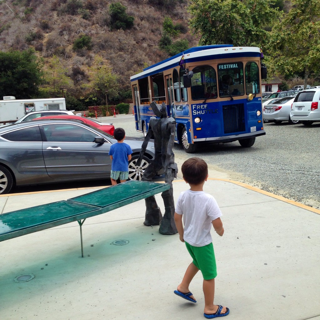 family art day - trolley