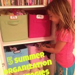 Five Summer Organization Strategies