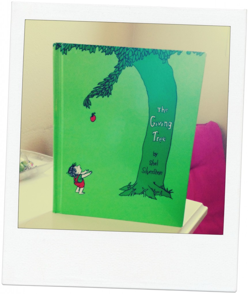 "A Shel Silverstein classic favorite ""The Giving Tree."""