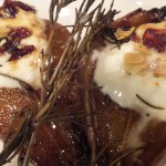 Roasted Pear in Dark Chocolate Balsamic with Burrata Recipe