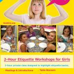 Bold Girlz Etiquette Workshop