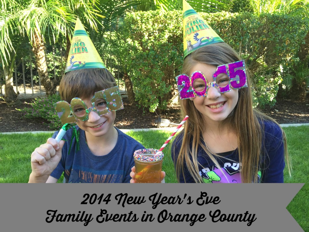 New Year's Eve Family Events