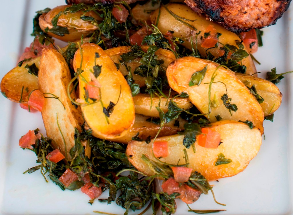 Alu Methi - Potatoes with Fenugreek
