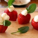 Clever Strawberry Valentines at Manassero Farms