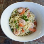 Lemon Garlic Shrimp Orzo Recipe