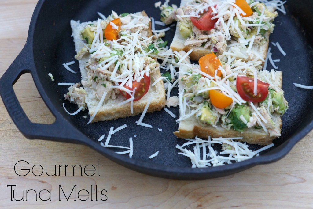 Gourmet Tuna Melts
