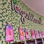 Candy Crush inspired flavors at Yogurtland