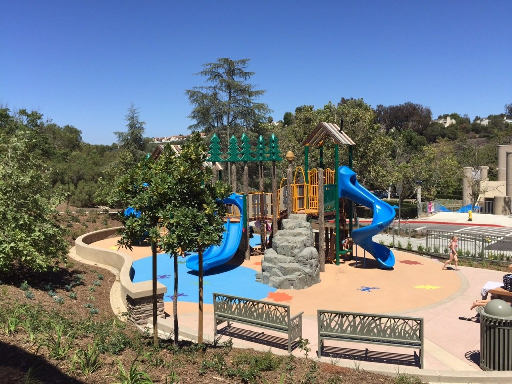 Playground at the Crown Valley Community Park