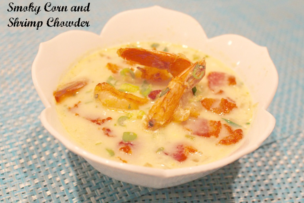Smoky Corn and Shrimp Chowder