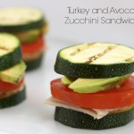 Grilled Turkey Zucchini Sandwiches