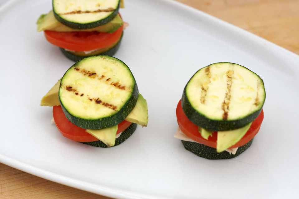 Zucchini and Turkey Sandwiches