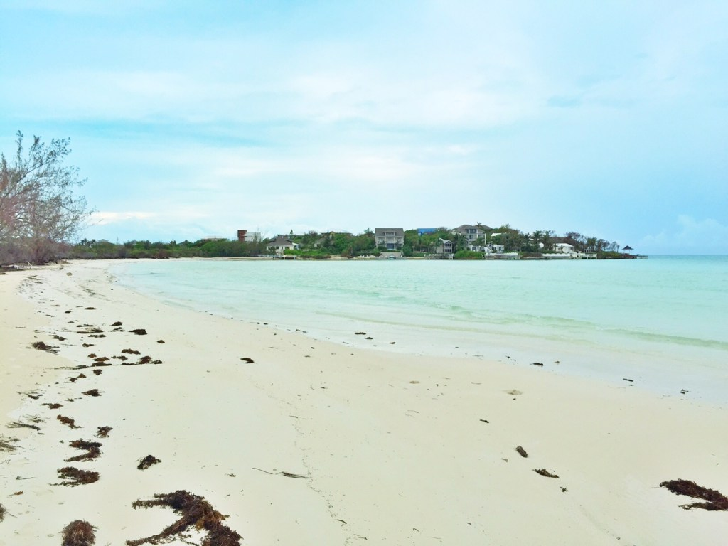 Taylor Bay in the Turks and Caicos