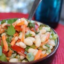 Lightening It Up With White Bean Salad